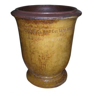 Errington Reay & Co. Ltd Courtyard Urn Old Leather