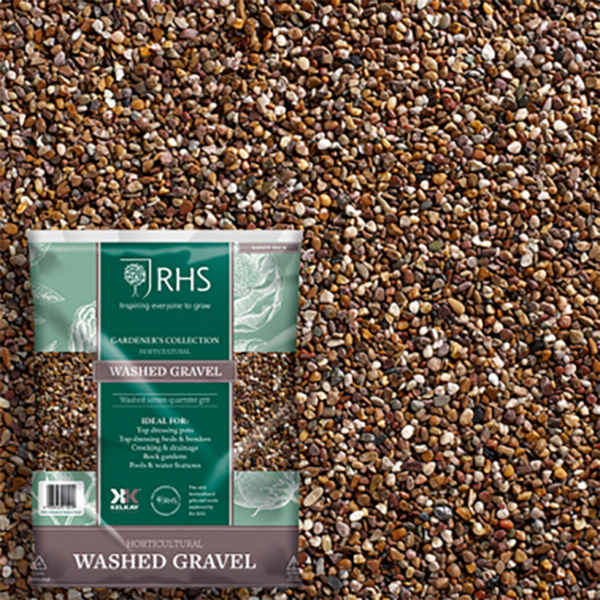 Kelkay RHS Horticultural Washed Gravel Handy Pack
