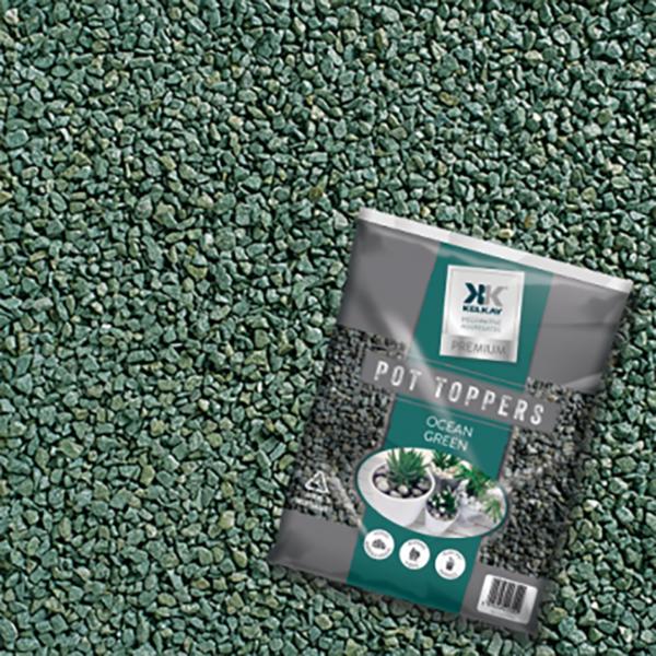 Kelkay Pot Topper - Ocean Green (Handy Pack)