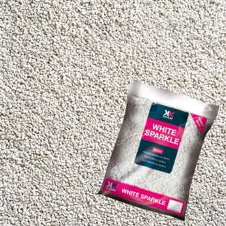 Kelkay Chippings - White Sparkle (Handy Pack)