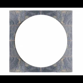Kelkay Borderstone Patio Feature Kit - Abbey Petal Circle Squaring Off (1.8m)