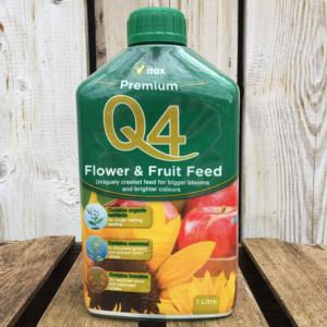 Vitax Q4 Premium Flower & Fruit Feed (1 litre)