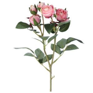 Gisela Graham Mini Pink Rosebud Spray (43cm)