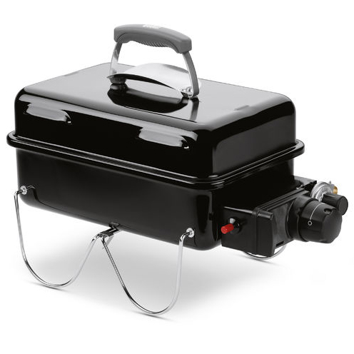 Weber Go-Anywhere Portable Gas Grill Barbecue (Black)