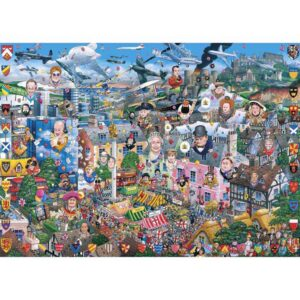 Gibsons I Love Great Britain 1000 Piece Jigsaw Puzzle