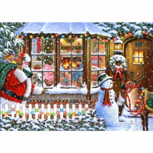 House Of Puzzles With Love From Santa Jigsaw Puzzle