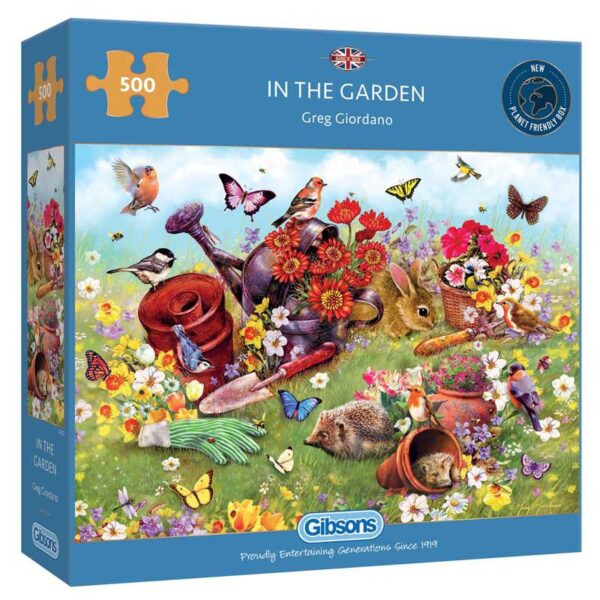 Gibsons In The Garden Jigsaw Puzzle - 500 Piece