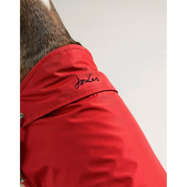 Joules Red Raincoat for Dogs