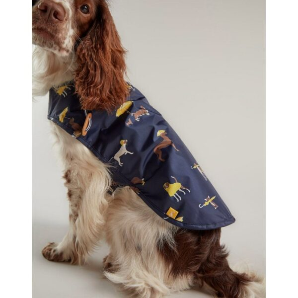 Joules Navy Raincoat for Dogs