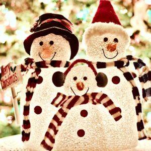 Lit Christmas Ornaments