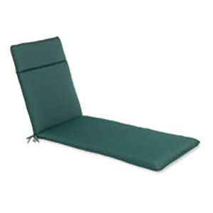 Lounger Seat Cushion Pad in Green