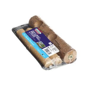 Gardman Seed and Mealworm Mini Suet Rolls and Feeder