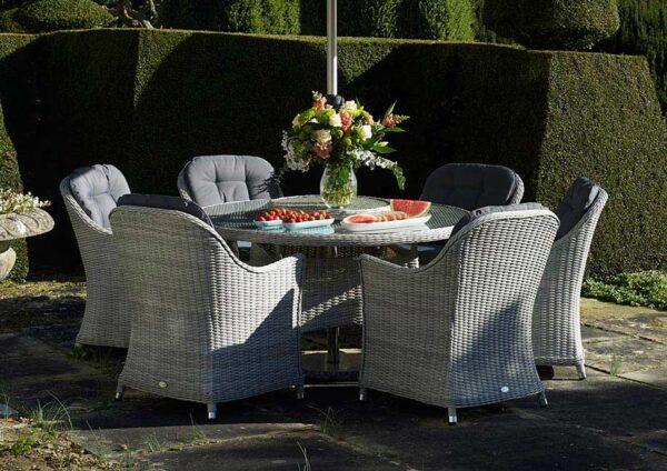 Bramblecrest Monterey 6 Seat Outdoor Dining Set