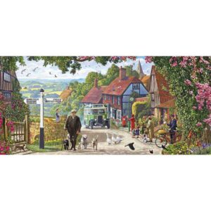 Gibsons A Morning Stroll 636 Piece Jigsaw Puzzle