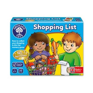 Orchard Toys Shopping List Lotto Game