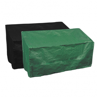 Use the green or black side of the Bosmere Protector 2000 3/4 Seat Bench Cover (Reversible)