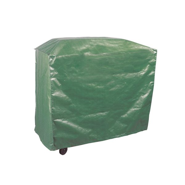 Using the green side of the Bosmere Protector 2000 Wagon Barbecue Cover (Reversible)