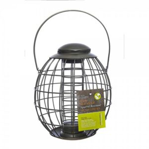 Tom Chambers Pewter Flick 'N' Click Squirrel Resistant Fat Ball Feeder