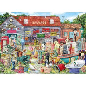 Gibsons Pots & Penny Farthings 1000 Piece Jigsaw Puzzle