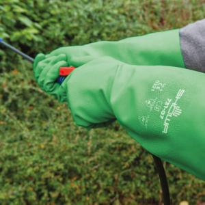 The Kew Gardens Collection Biodegradable Gauntlet Gardening Gloves