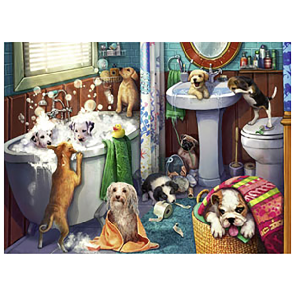 Detail of Tub Time Puzzle