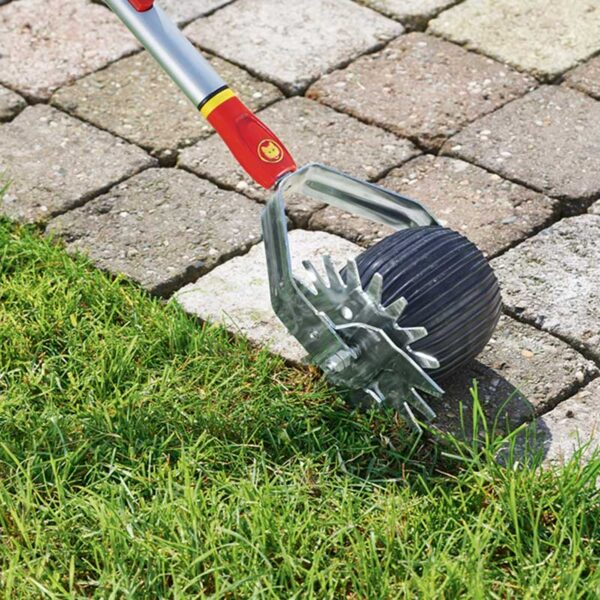 Wolf Garten Multi-Change Lawn Edge Trimmer In Use
