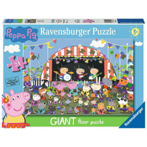 Ravensburger Giant Floor Puzzle Peppa Pig Concert 24 Pieces