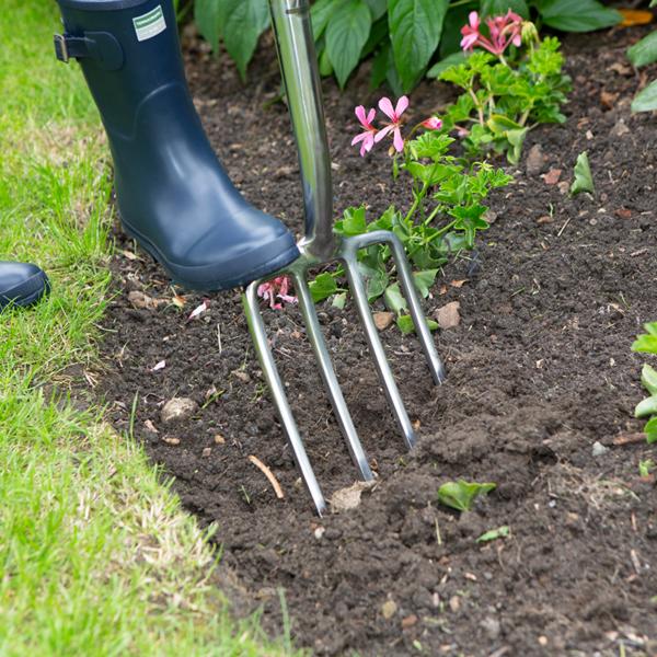 Wilkinson Sword Stainless Steel Digging Fork #1111112W