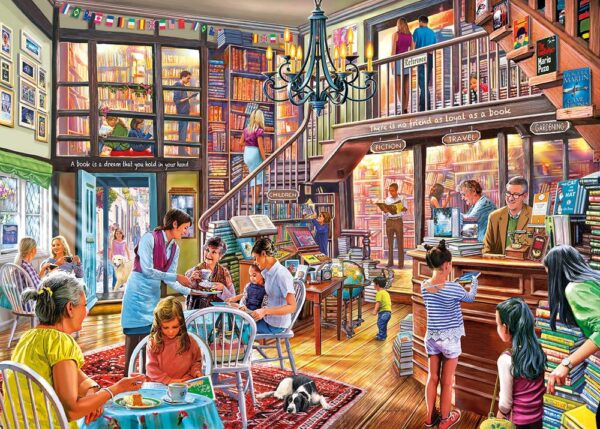 Gibsons Story Time 1000 Piece Jigsaw Puzzle