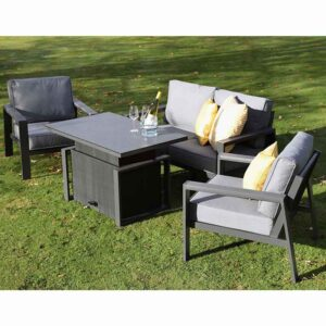 Supremo Melbury Lounge Set with Height Adjustable Table