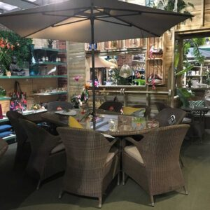 4 Seasons Sussex 8 Seater Garden Dining Set