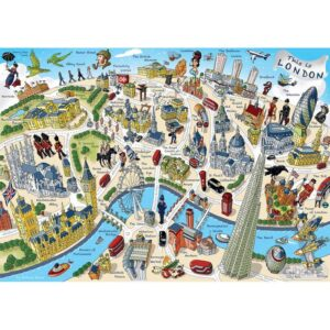 Gibsons This Is London Jigsaw Puzzle - 500 Piece