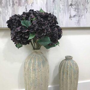 Floralsilk Aubergine Hydrangea (67cm)