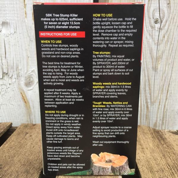 Vitax SBK Brushwood Killer Tree Stump Killer (250ml) information