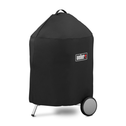 """Weber Barbecue Grill Premium Cover for 57cm / 22"""" & Master-Touch Charcoal Barbecues (Black)"""
