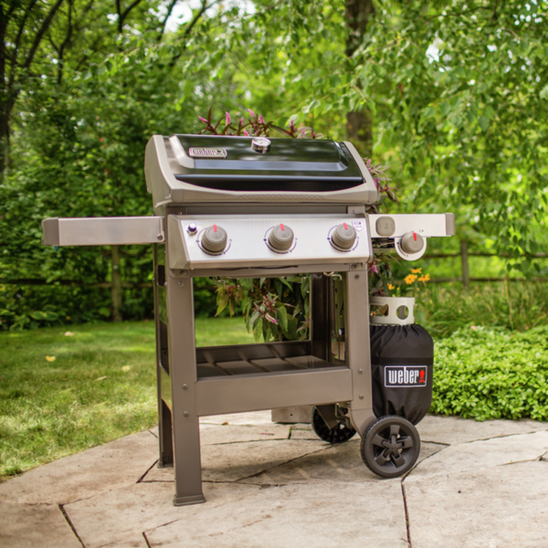 The Weber Spirit II E-320 Gourmet BBQ System Gas Barbecue (Black)
