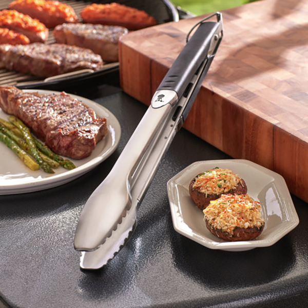 Weber Barbecue Premium Tongs (Stainless Steel) - the perfect barbecue tool