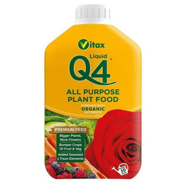 Vitax Q4 All Purpose Liquid Plant Food (1 Litre)