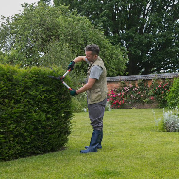 "Using the Wilkinson Sword 9"" Wavy Blade Hedge Shear"