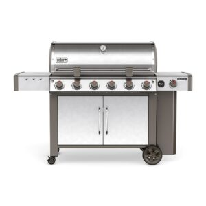 Weber Genesis II LX S-640 GBS Gas Barbecue (Stainless Steel)