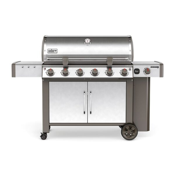 Weber Genesis II LX S-640 GBS Gas Barbecue (Stainless Steel)